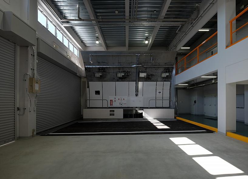 1階トンネル研修施設