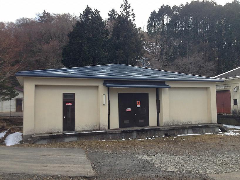箱根イタリー浄水場屋根葺き替え工事(箱根町)