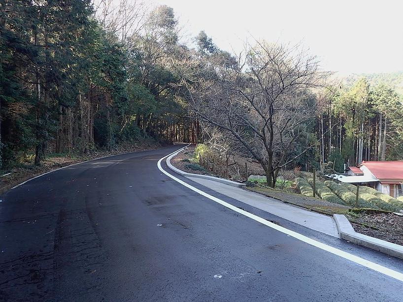 H28和留沢林道改修工事(南足柄市)