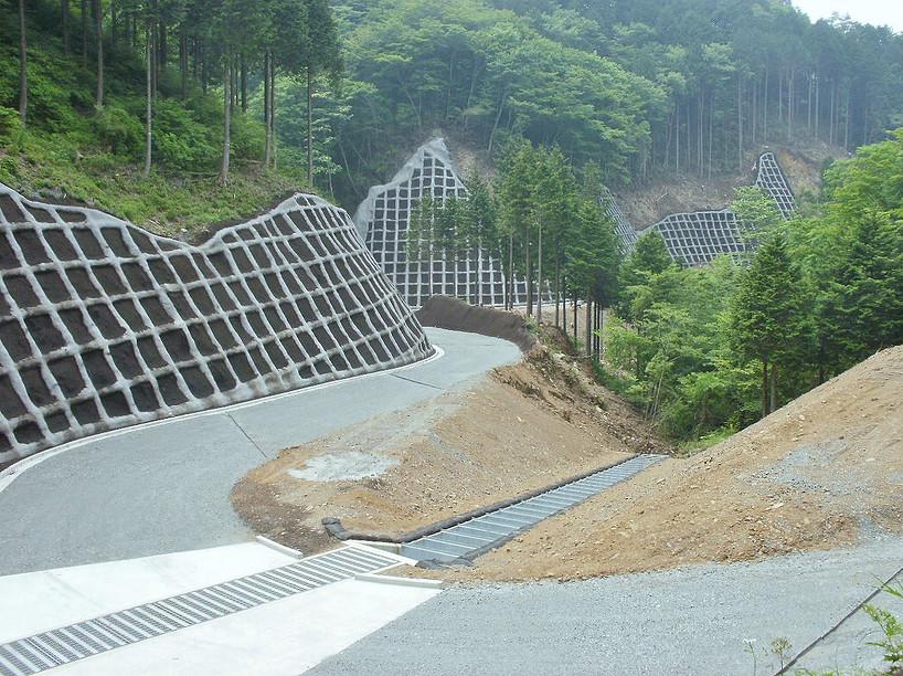 H25桧山林道開設工事(南足柄市)