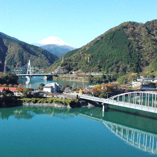 山北町丹沢湖