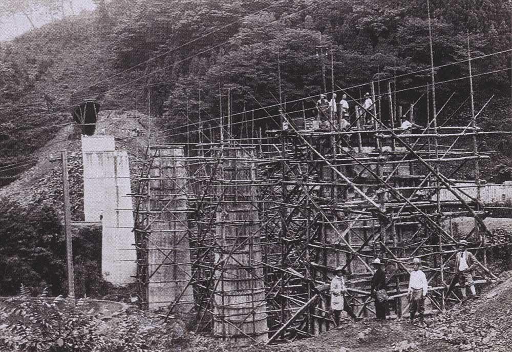 鉄道省久大線工事(大正11~12年)